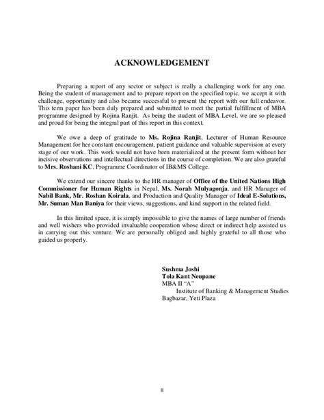 13 Acknowledgement Sample For Research Paper Global